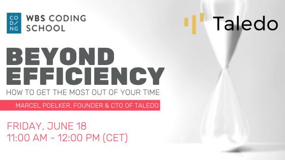 Invitation to public talk 'Beyond Efficiency'